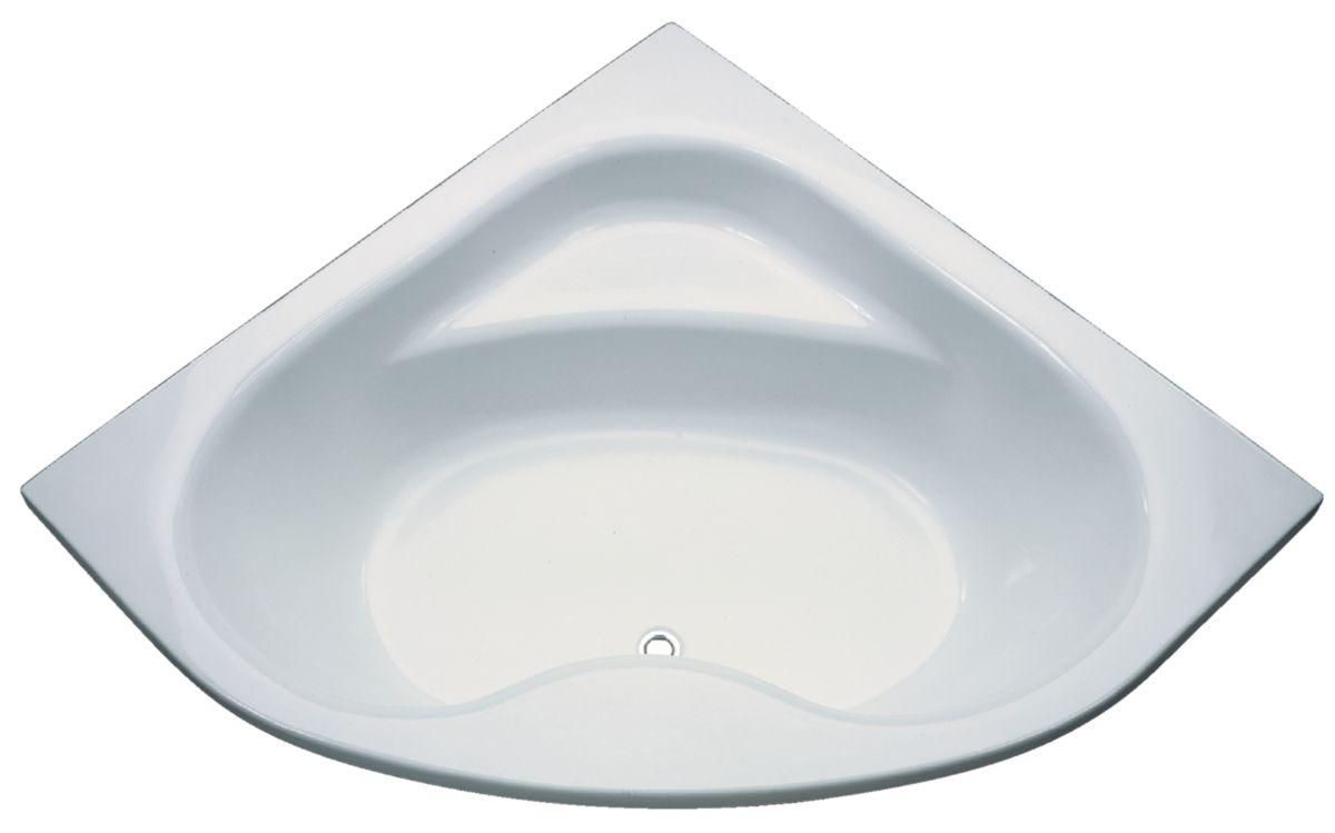 baignoire d angle 130x130 great tablier de baignoire. Black Bedroom Furniture Sets. Home Design Ideas