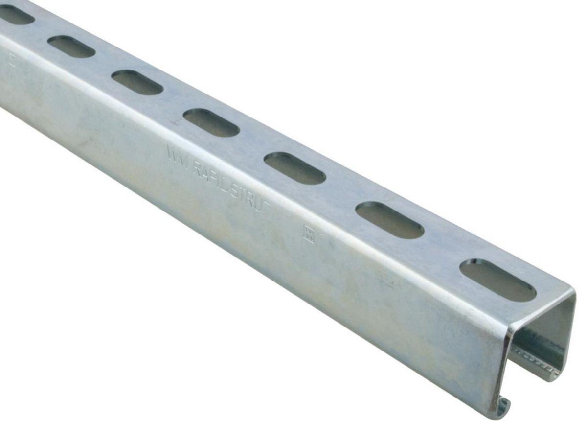 Rail de montage Strut 41x41mm 2mm longueur 3m 6505342