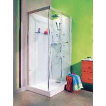 cabine domino compl te rectangulaire 110 x 80 cm version hydro alterna sanitaire cedeo. Black Bedroom Furniture Sets. Home Design Ideas