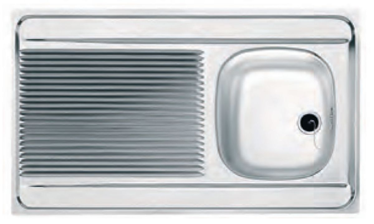 Evier Inox 1 Cuve Promo Pearlfection Fr
