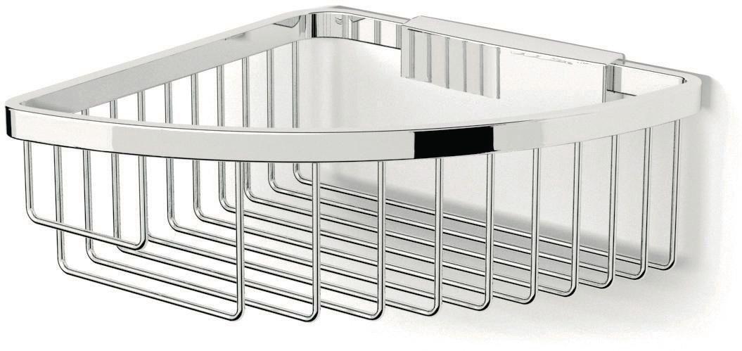 Panier filaire d 39 angle fixer day by day envie de salle de bain - Accessoires salle de bain a ventouse ...