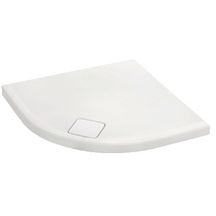 Receveur douche ODEON UP quart de rond 90x90 antid�rapant blanc r�f N124K220