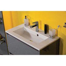meuble sous vasque plenitude 70 cm 2 tiroirs p50 gris. Black Bedroom Furniture Sets. Home Design Ideas