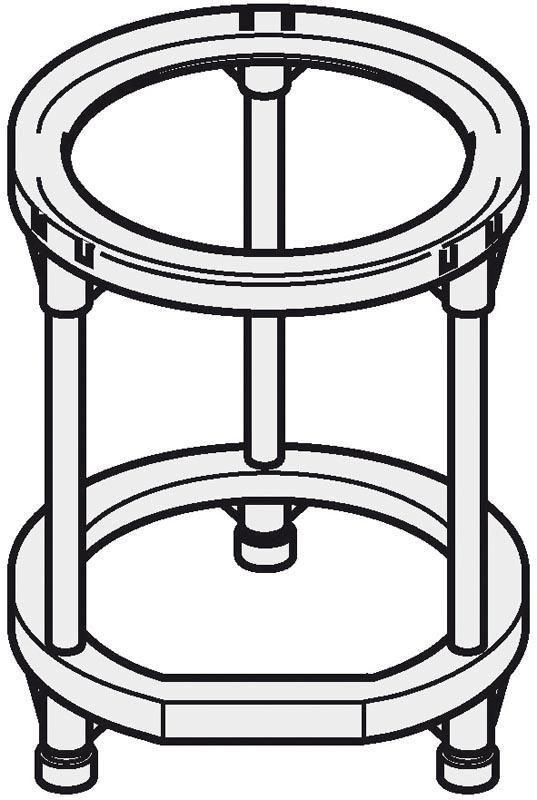 Trépied pour chauffe-eau COR-EMAIL mural vertical standard réf. 89788949
