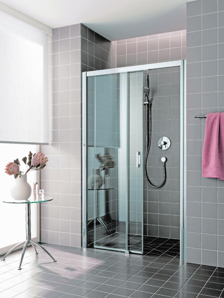 rothalux porte de douche coulissante grande largeur 2. Black Bedroom Furniture Sets. Home Design Ideas