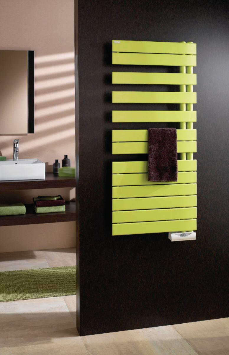 acova radiateur s che serviettes fassane spa lectrique asym trique droite 1000 w hauteur 1723. Black Bedroom Furniture Sets. Home Design Ideas