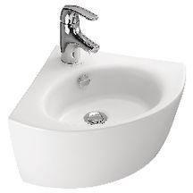 lave mains d 39 angle ove blanc r f e1566 00 jacob delafon sanitaire cedeo. Black Bedroom Furniture Sets. Home Design Ideas
