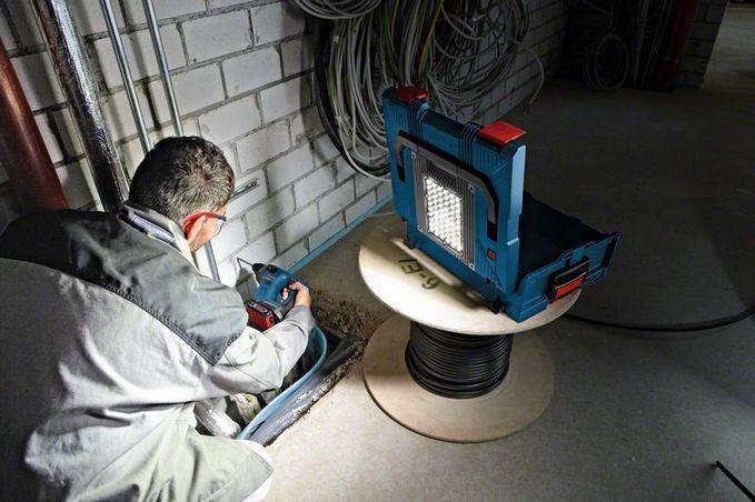 Perceuse visseuse 12V GSR 12V-15 LI 2 batt. 2,0 Ah, + lampe GLI L-Boxx, réf. 0615990FZ9