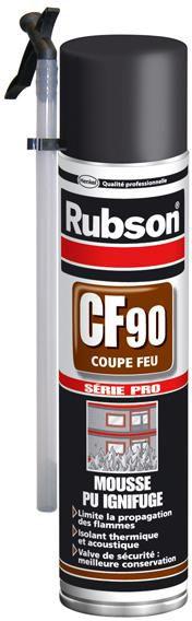Mousse Rubson CF90 polyuréthane 600 ml