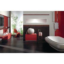 Faïence Arte Home Tonus rouge bordure 3,5x40cm Y59817001