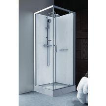 cabine de douche integrale 70x70 pvc. Black Bedroom Furniture Sets. Home Design Ideas