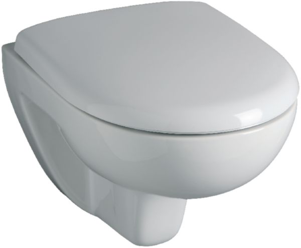 WC suspendu CONCERTO 2 compact, abattant frein de chute