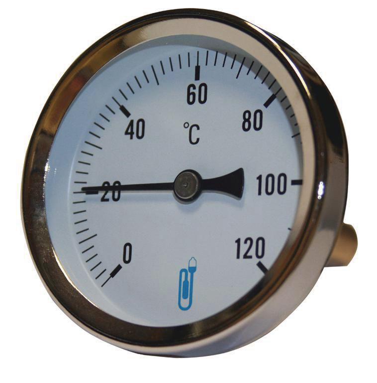 Thermo cadran d80mm 0/120°C plong.40mm doigt gant lait