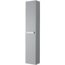 Colonne SEDUCTA, 1 porte r�versible, gris perle