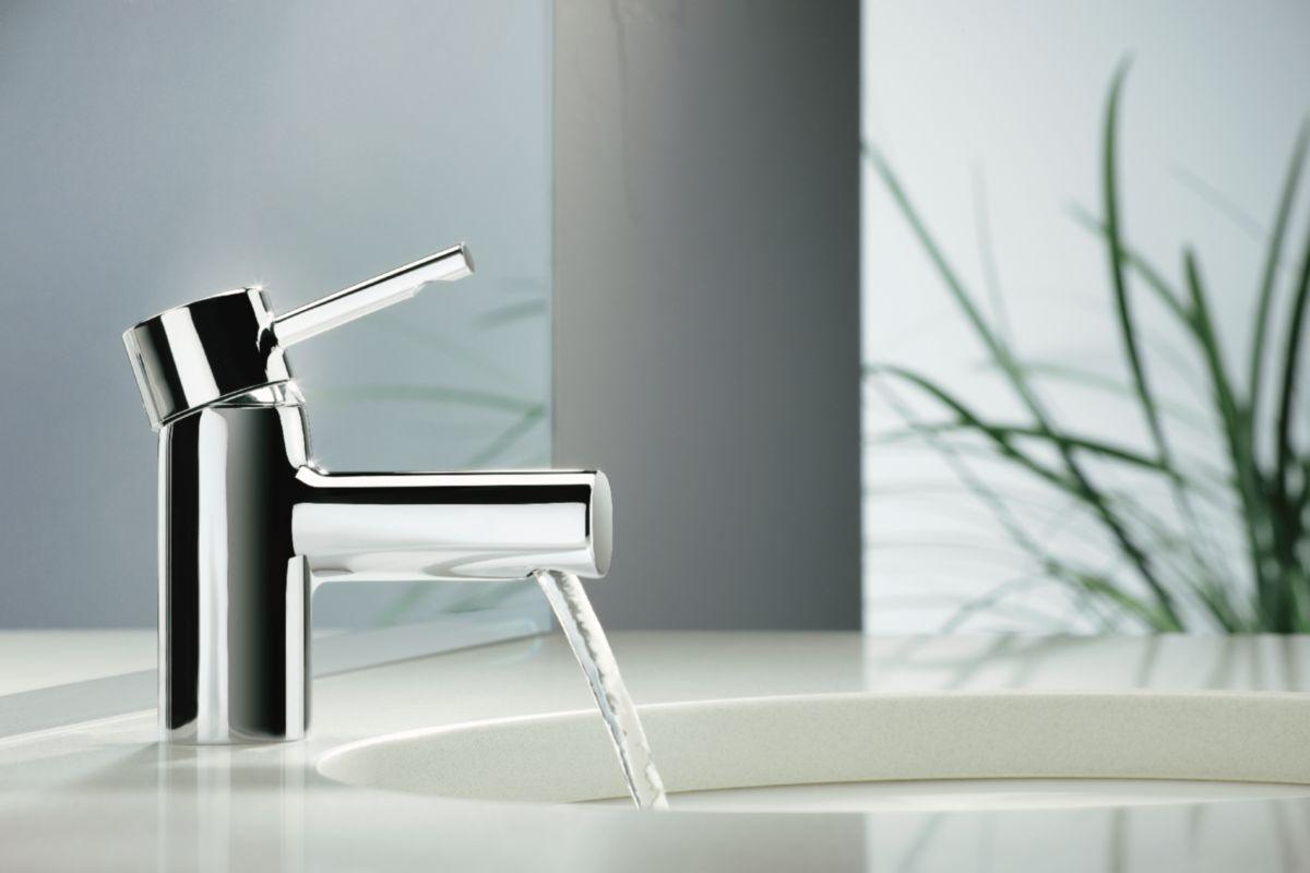 jacob delafon mitigeur lavabo cuff avec vidage chrome. Black Bedroom Furniture Sets. Home Design Ideas