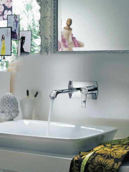 Mitigeur lavabo mural SOFI, sans vidage