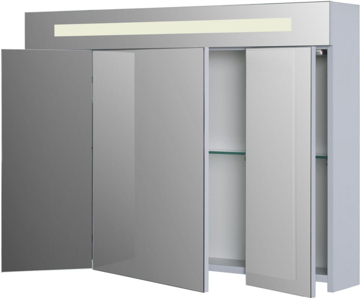 Armoire De Toilette Seducta 90 Cm Avec éclairage Led