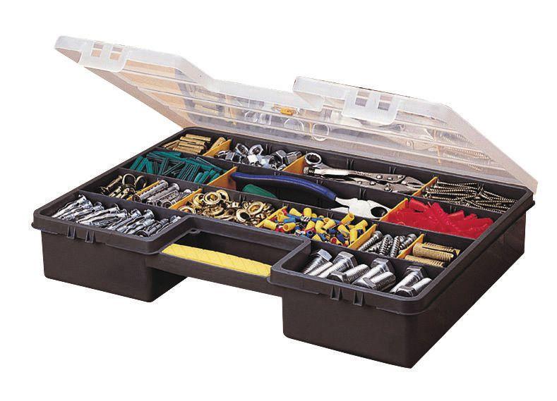 Boîte de rangement 25 compartiments 46x33,5x8cm 192762 réf. 1-92-762
