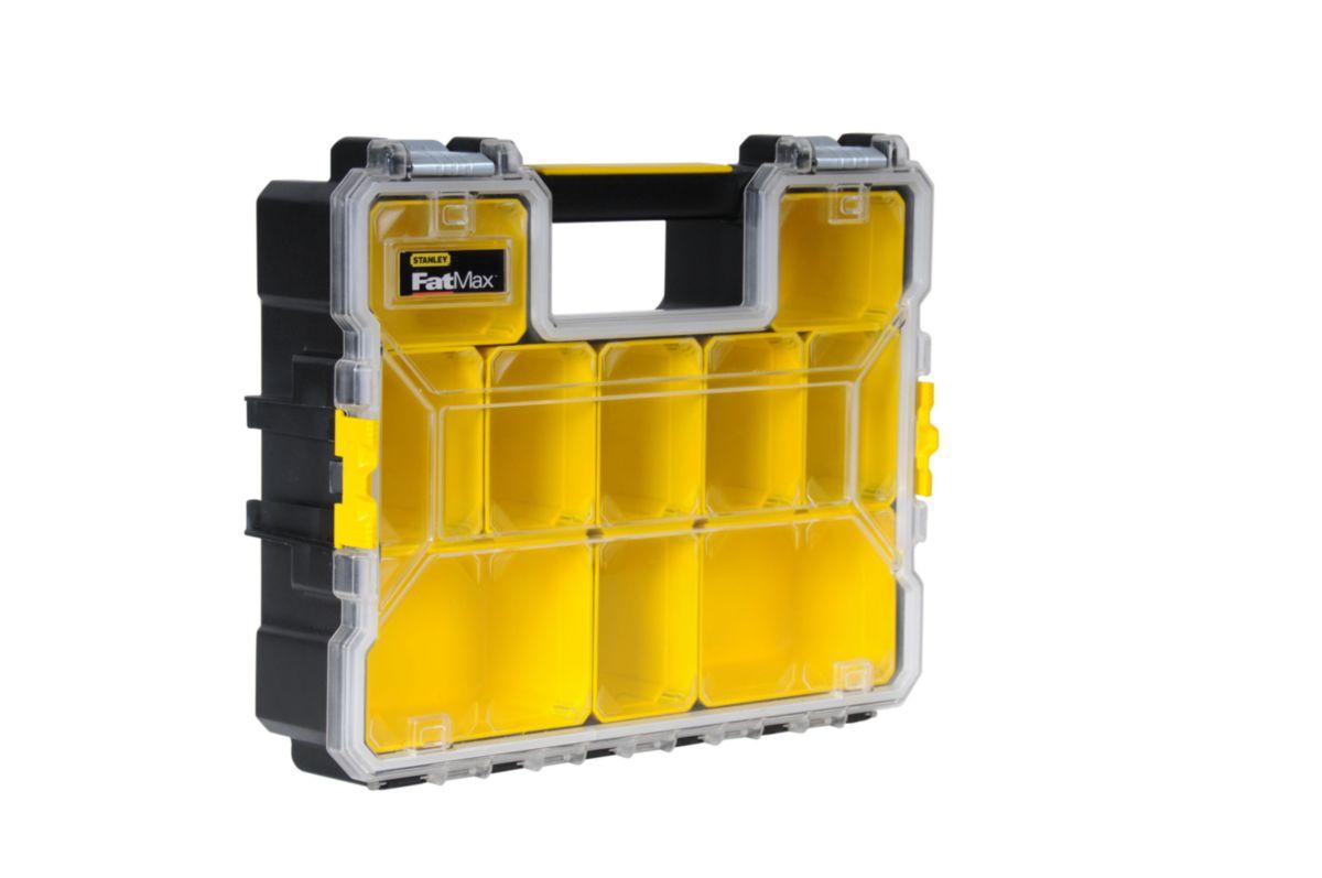 Organiseur Fatmax 10 compartiments profondeur 106mm