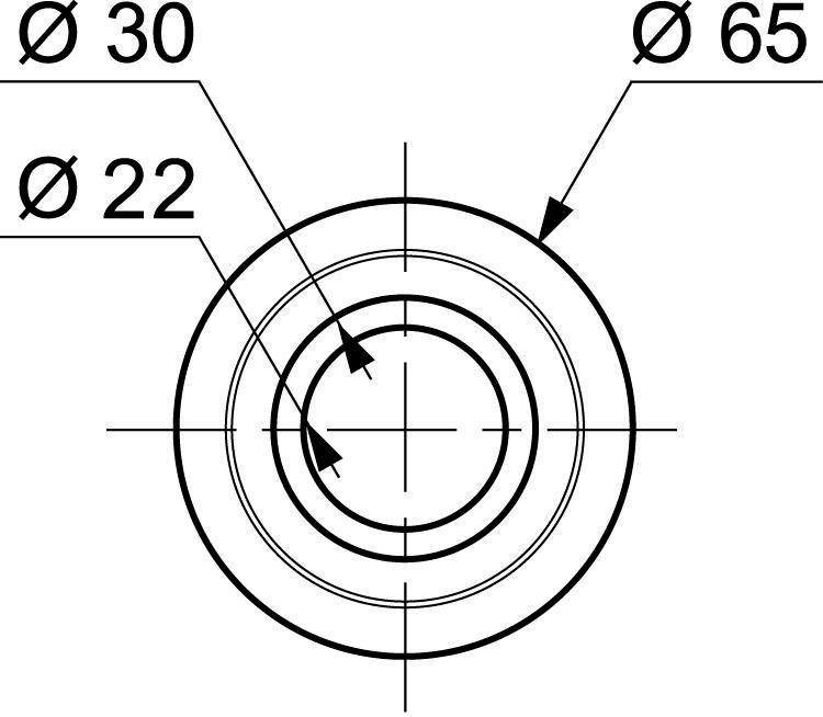 Joint de clapet silicone pour mécanisme wirquin M25