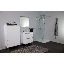meuble sous vasque plenitude 70 cm 2 tiroirs p38 blanc alterna sanitaire brossette. Black Bedroom Furniture Sets. Home Design Ideas