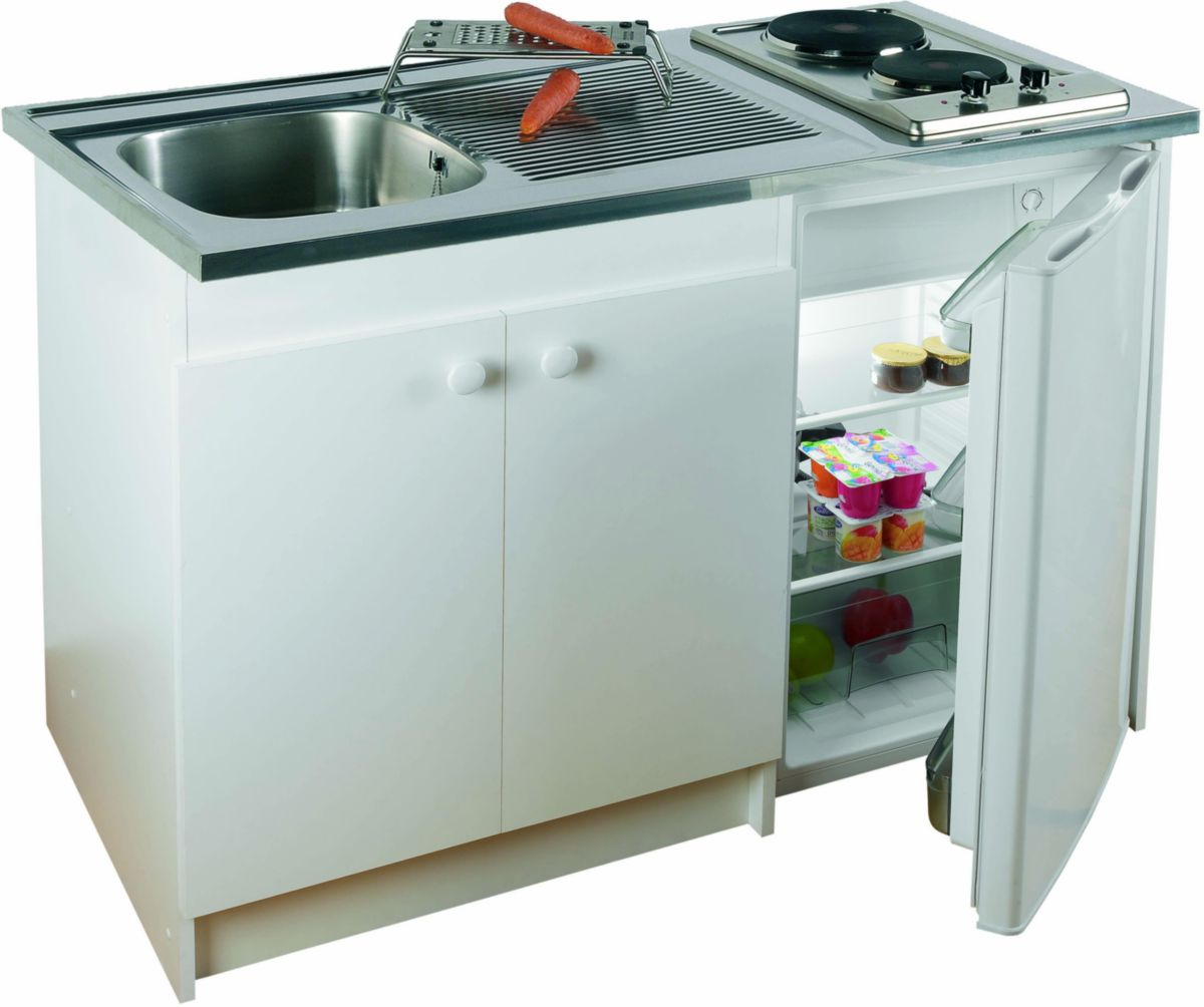 meuble kitchenette eco 600mm réf 609812 - franke - sanitaire -cedeo