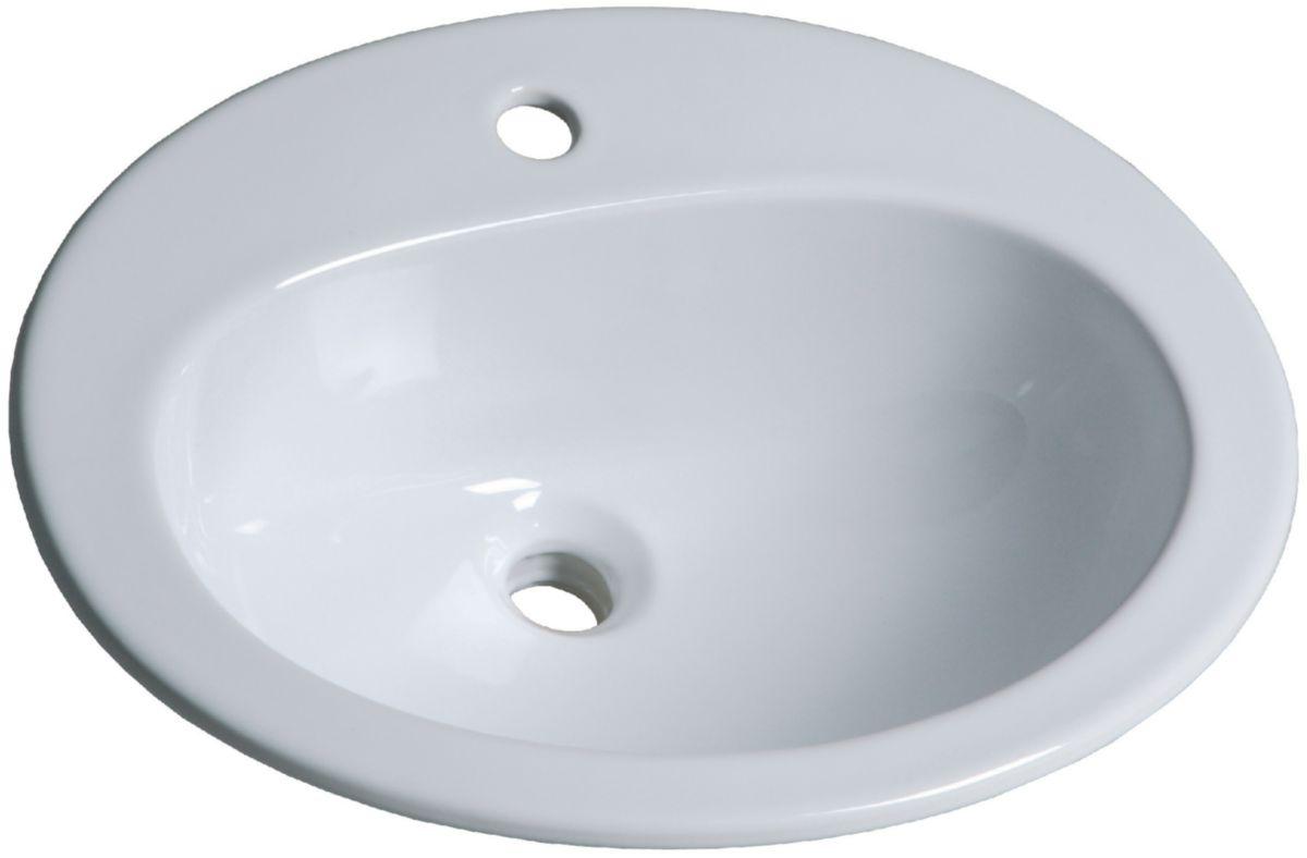 Vasque salle de bain encastrable for Meuble salle de bain brossette