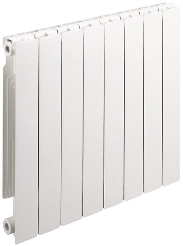 Radiateur décor en aluminium gamme STREET 80 entraxe 800 mm 8 éléments 1152 Watts réf. 6005573