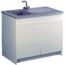 Meuble sous vier sesame 78 5x58 6x82 cm 2 portes avec - Vide sanitaire meuble cuisine ...