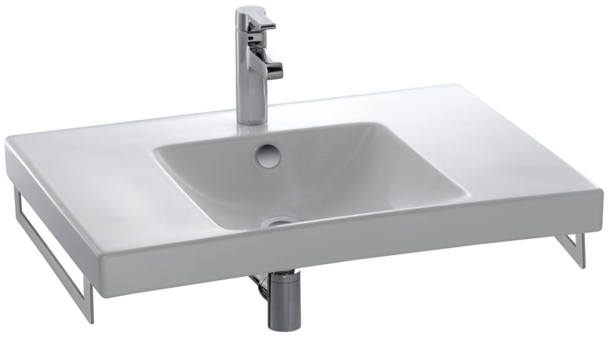 Creation Salle De Bain Dans Une Chambre ~ plan vasque autoportant 740 x 545 mm perc 1 trou r f e4494 00