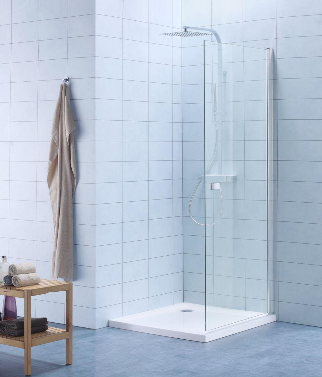 Paroi de douche DOMINO pivotante 90 cm