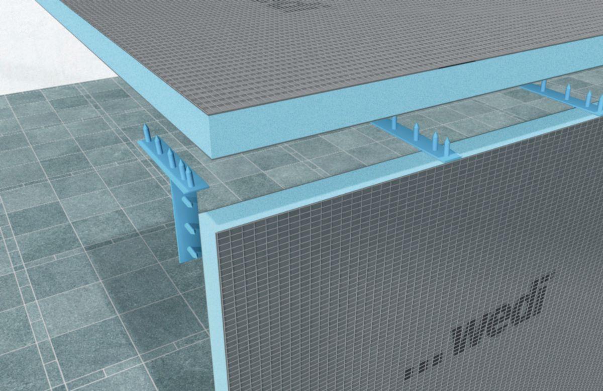 WEDI - Panneau de construction WEDI 2500x600x40 mm Réf. 01-00-00/040 ...