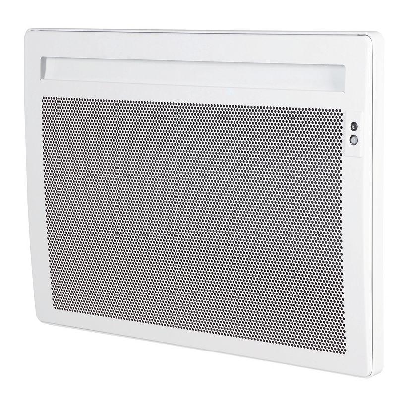 Convecteur rayonnant électrique SOLIUS ECODOMO horizontal blanc programme PASS et ASP 1000 watts réf. 510910