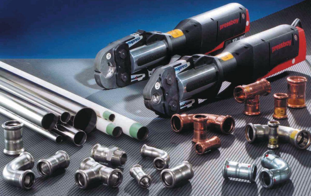 Jonction filetée D42-1 1/4mm, acier inox Réf 31721