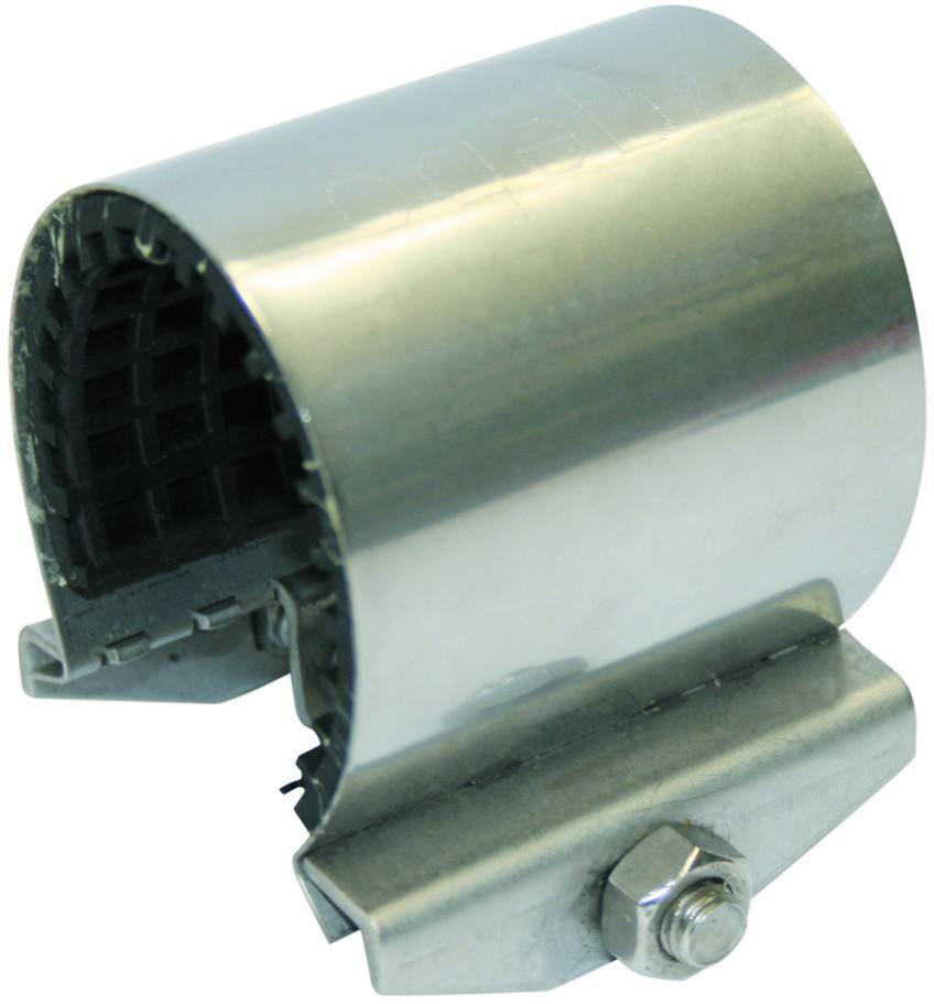 Collier de répa. inox UNIFIX mini 1 boulon tolérance 29-33