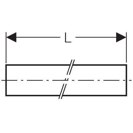 Tube acierélectrozingué D35x1,5 , barre de 6mètres réf 29256