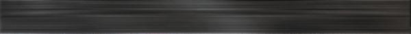 Faïence Arte Design Luna noir brillant listel 4,5x60cm