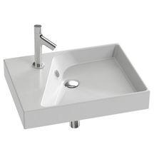 Plan vasque Rythmik 60x46cm blanc réf EXQ112-00