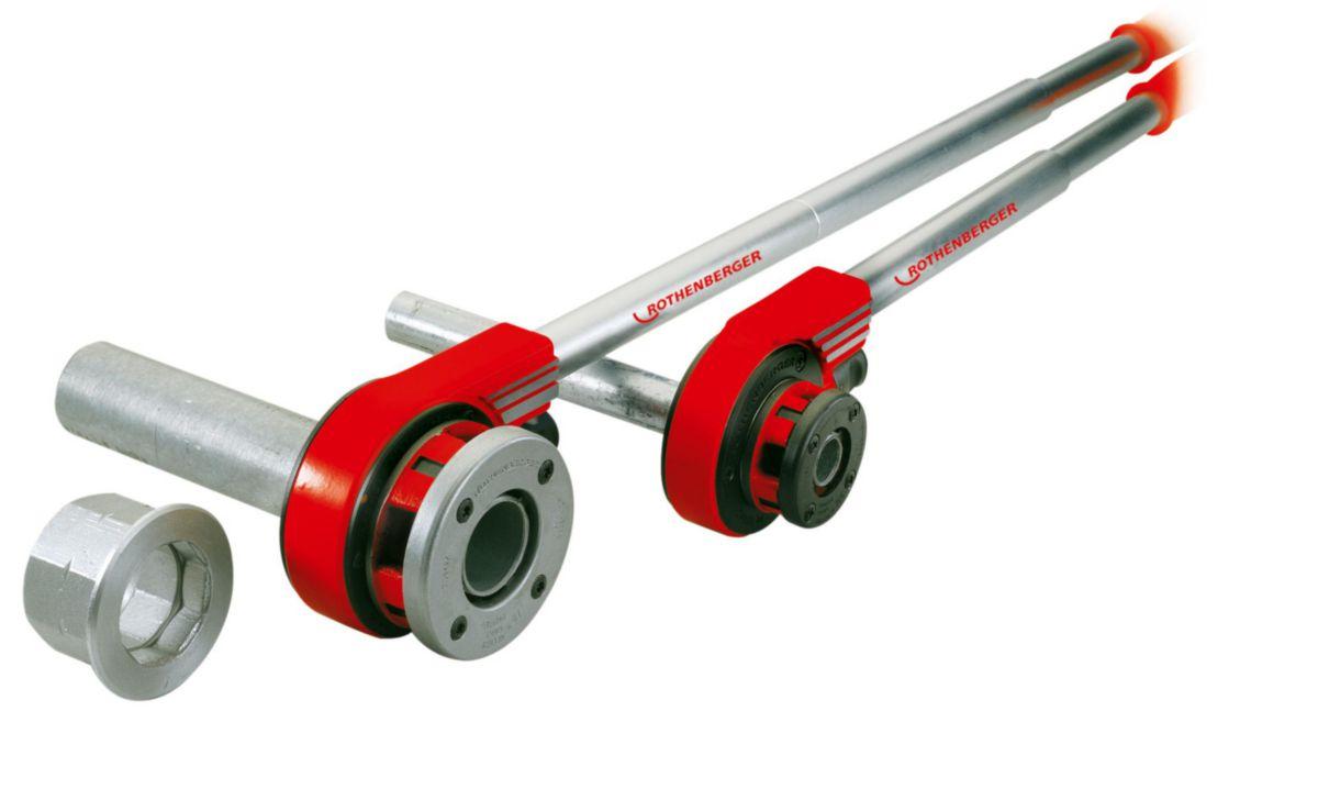 Tête de filière et cage en coffret SUPER CUT diamètre : 3/8 à 1 1/4 070790X