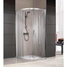 Parois de douche douche sanitaire brossette - Paroi de douche quart de rond ...