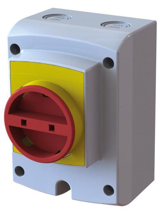 Inter-sectionneur Isolator 4P 40A Réf 167BB00610