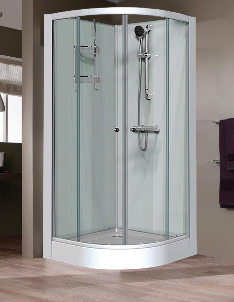 cabine de douche brossette