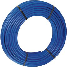 Tube nu en couronne bleu PER BetaPEX-RETUBE diam 16 ep : 1,5 mm Lg : 240 m R�f B611001044
