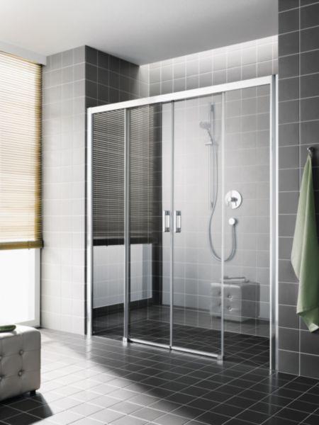 Porte de douche coulissante ROTHACLEAN 110 à 180 cm