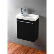 ensemble piccolo lave main en c ramique meuble gris alterna sanitaire cedeo. Black Bedroom Furniture Sets. Home Design Ideas