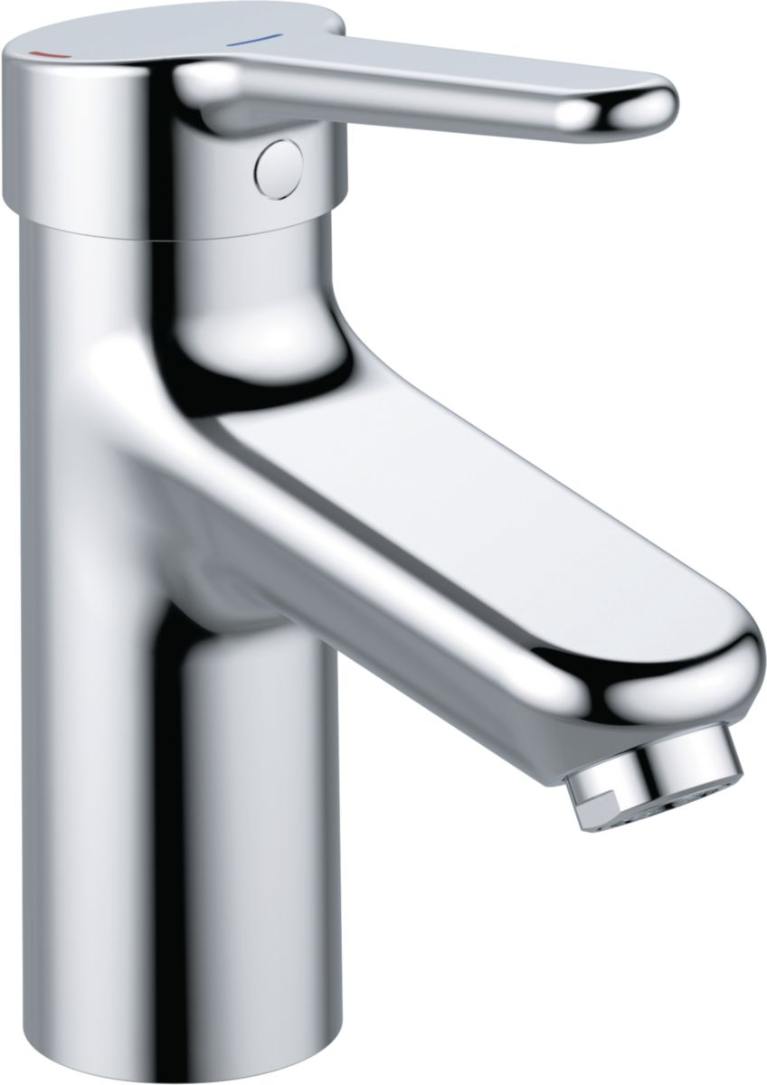 Mitigeur OKYRIS PRO lavabo vidage métal chromé réf. D2461AA