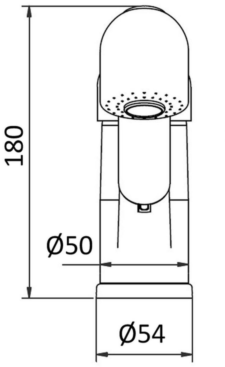 Mitigeur évier MEZZO C2 avec douchette