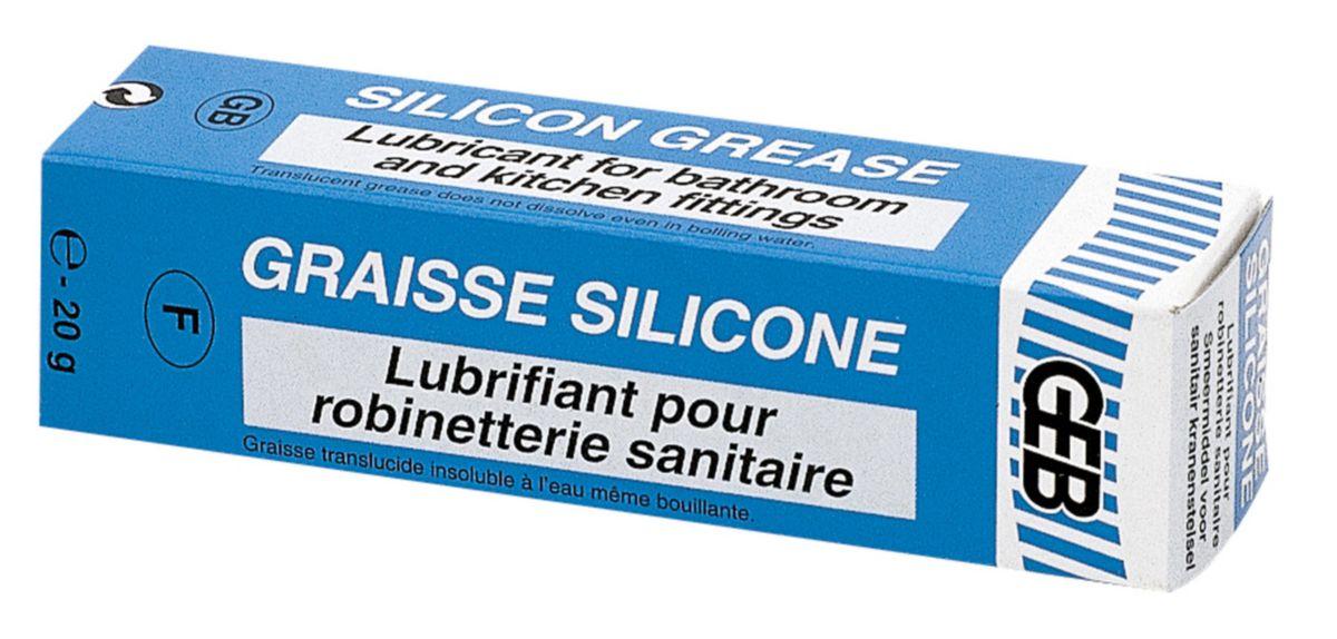 Graisse silicone étui-tube 20g réf 515520