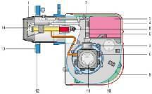 Brûleur fioul Millenium 40 G 3 35 kW réf. 3743140