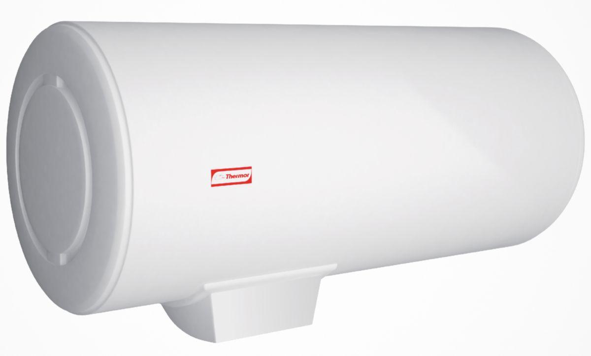 Chauffe eau électrique THERMOR mural horizontal à résistance blindée 75 litres 1,6 kW classe énergétique C réf. 253010